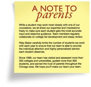 A Note to Parents
